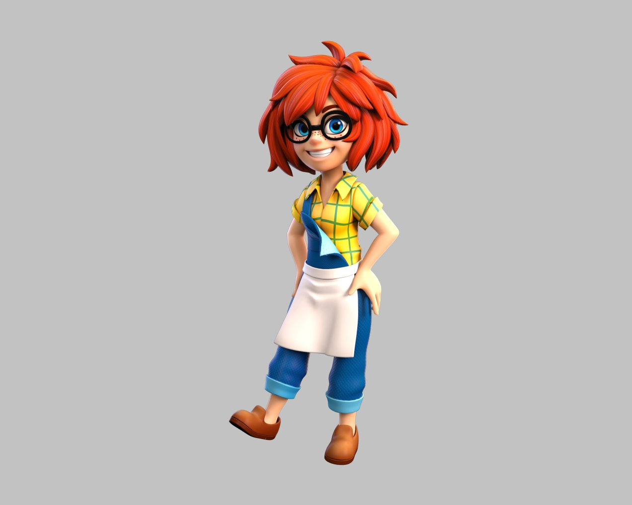 Country Kitchen Chef_pose1