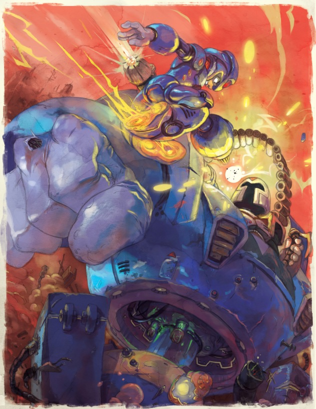Megaman Tribute book, by Udon Entertainment