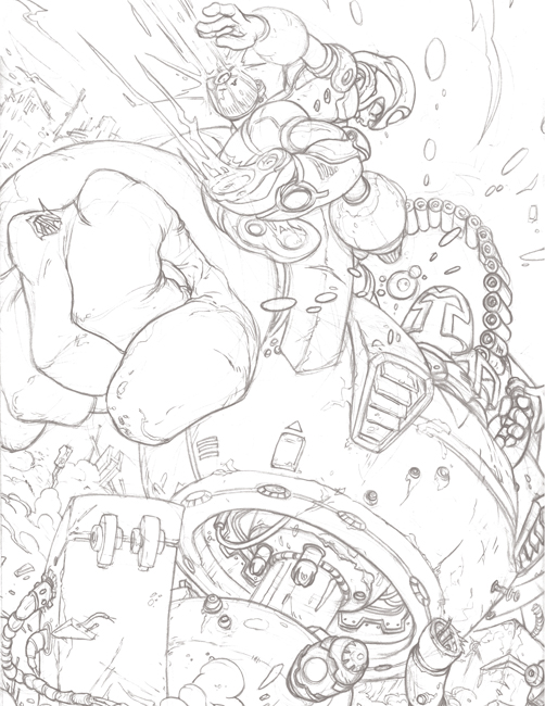 xavier_garcia_megaman_tribute_pencils_web