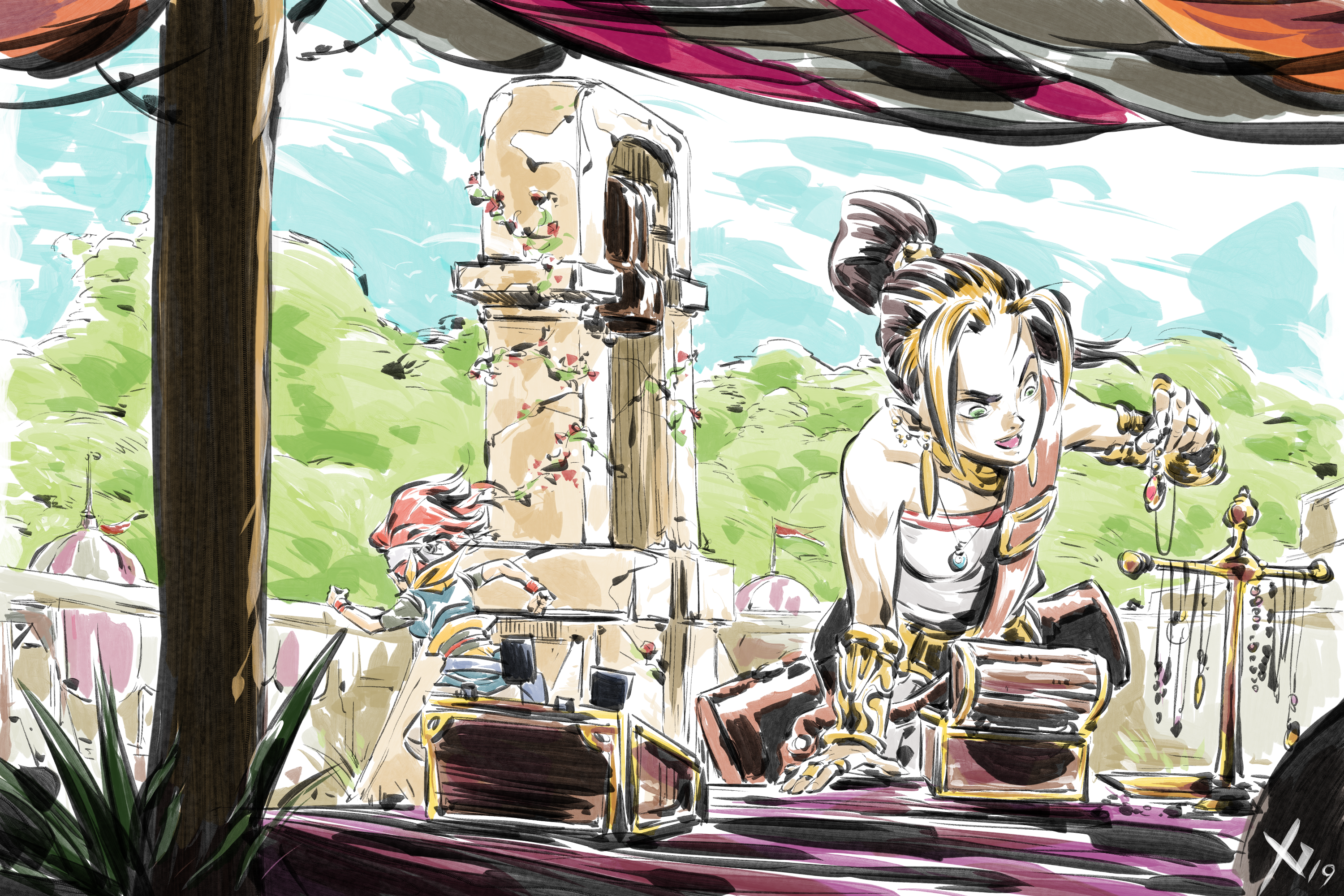 I am reconcepting Chrono Trigger  Ongoing project | Updates